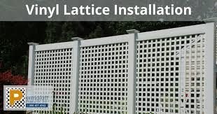 vinyl lattice fence panels. Vinyl Lattice Fence Panels I