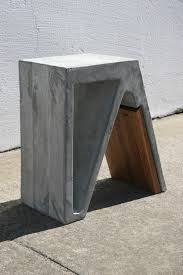 concrete and wood furniture. Magazine-Stable-Branch-Studio-6 Concrete And Wood Furniture G