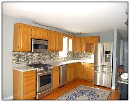 Kitchen Paint Colors With Oak Cabinets Home Design Ideas What