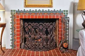 Decorative Tiles For Fireplace Restoring a 100s Spanish House Clay tiles Spanish and Spanish 96