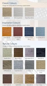 Canexel Colour Chart Arcan Aluminium