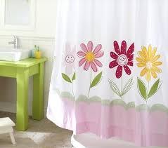 barn shower curtain daisy garden shower curtain pottery barn shower curtain ruffle