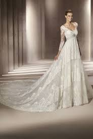 ivory wedding gowns with sleeves 100 images ivory lace tulle