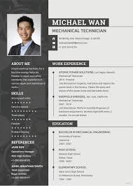 Cv Mechanic Free Mechanic Resume Template Word Psd Indesign