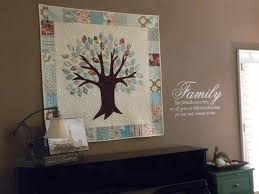 Family Tree Quilt & Vinyl Saying &  Adamdwight.com