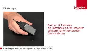 Video Instructions Hecht International