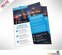 flyer companies corporate business flyer free psd template psdfreebies com