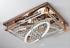 rectangular ceiling light be50 simple modern creative rectangular ceiling light oval led crystal lamps living room rectangular ceiling light