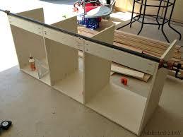 building a bathroom vanity. DIY Double Bathroom Vanity Building A O