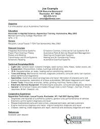 Resume Objective For Maintenance Technician Best of Maintenance Sample Resume Mechanic Resume Examples Aircraft Engine