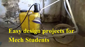 Simple Design Engineering Projects Final Year Mechanical Engineering Project Ideas Liquid Fertilizer Spreader