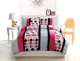 black white and pink bedding black white hot pink polka dot stripe teen girl bedding full comforter set black white pink crib bedding sets