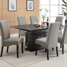 Adorable Modern Dining Table Set Of Alluring Designer And Chairs