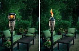 Outdoor torch lights Dancing Outdoor Torches Lights Solar Torch Metal Full Size Needspetsinfo Decoration Outdoor Tiki Torches