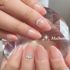 オールシーズンバレンタインオフィス女子会ハンド Nails Malheim