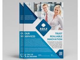Sample Of Flyer Excel Brochure Template Business Information Flyer Template