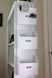 hanging office organizer. Home Office Organization: Categorize Loose Papers/documents/receipts Into: Now (requires Hanging Organizer
