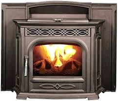 fireplace inserts pellet stove inserts the cast iron fireplace insert 1 best