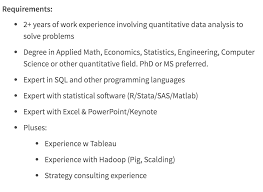 Job Task Template Beauteous Data Scientist Job Description Springboard Blog
