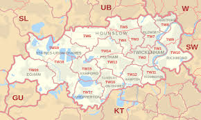 Image result for map of Hatton, TW14