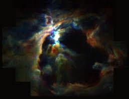 Resultado de imagen de El viento estelar de estrellas jóvenes