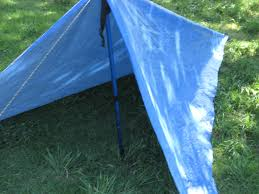 How To Make A Tent 1 Person Tarp Tent 4 Steps With Pictures