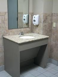 commercial bathroom sink. Commercial Bathroom Sink Remodeling In Regarding Vanity Remodel 9 Ada Height