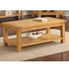 heaton large coffee table in rustic