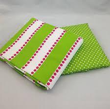 green mini dots crib sheet green stripe crib skirt samples