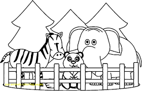 Zoo Coloring Page Motivate Advanced 18445 For Animals Pages Capricus
