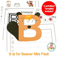 b alphabet pack