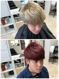 メンズ赤髪マッシュが2018夏カッコイイメンズの髪型です Mio