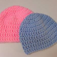 Easy Crochet Baby Hat Patterns For Beginners Delectable Crochet Baby Hats For Beginners Crochet And Knit