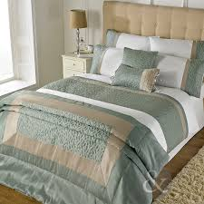 Just Contempo Leaf Embossed Duvet Cover Set, Cotton Blend, Duck ... & Just Contempo Leaf Embossed Duvet Cover Set, Cotton Blend, Duck Egg Blue/Cream,  Double: Amazon.co.uk: Kitchen & Home Adamdwight.com