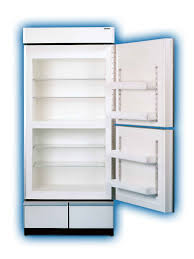 refrigerator and freezer. sun frost rf19 refrigerator and freezer