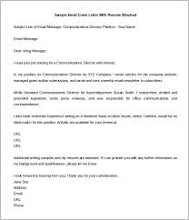 Elegant Sample Cover Letter For Sending Documents Email Cover Letter