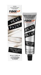 Fudge Hair Dye Colour Chart New Headpaint Product Page Fudge Professional