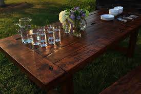 real rustic kitchen table long: long rustic dining  the clayon x long rustic dining
