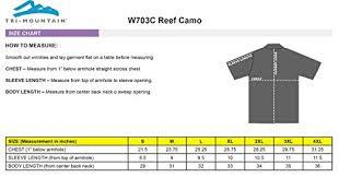 Tri Mountain W703c Reef Camo Sun Protection