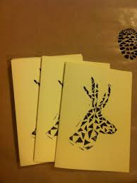 the edible w shop open for christmas the edible w  handmade christmas cards geometric reindeer print