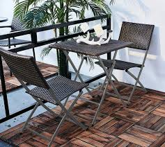wicker folding chairs. 3PC Folding Round Table \u0026 Chair Bistro Set Rattan Wicker Outdoor Furniture Chairs
