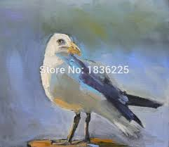 handpainted art supplies oil painting birds for s home decor wall hanging canvas wall art oil