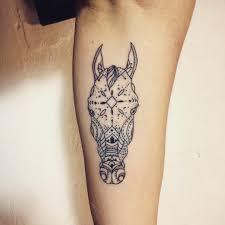 Beautiful Horse Tattoo By At Dabytztattoo Tattoo Tetování Koně