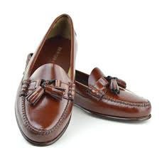 mod shoes las tassel loafers chestnut with leather