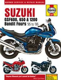 haynes manual 3367 suzuki gsf600 650 1200 bandit 95 06 t11449 haynes manual 3367 suzuki gsf600 650 1200 bandit 95 06 t11449 amazon co uk car motorbike
