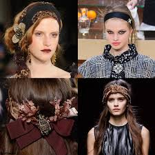 Chanel Hair Style trendy hairstyle for fw 2015 headband glamours vintage victorian 3983 by stevesalt.us