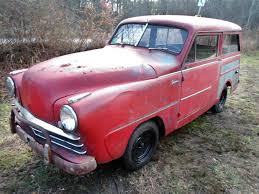wee wagon 1950 crosley series cd super wagon supposedly this car runs and drives great according to the seller and then they say that the car is in running or driving condition so i m not sure