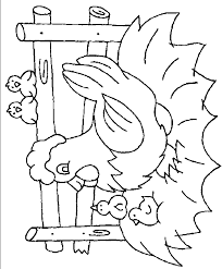 Small Picture Chicken coloring page Chicken free printable coloring pages animals