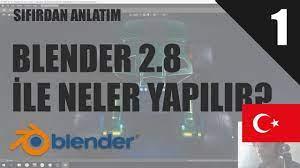 Blender 2.8 | Bu Program İle Neler Yapılabilir? - YouTube
