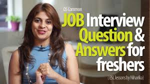 Job Interview Question Answers For Freshers Free Job Interview